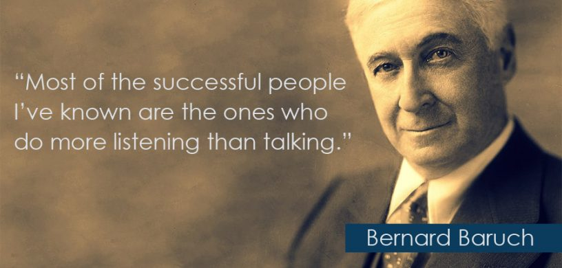 Talk Less Listen More