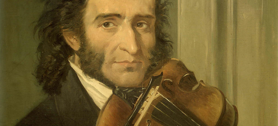 Paganini and one string